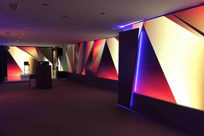 location mur LED 2mm