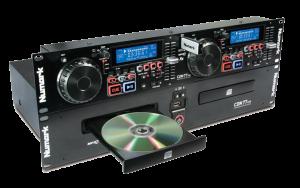 Numark cdn77 doppel cd mp3 player DJ Equipment mieten