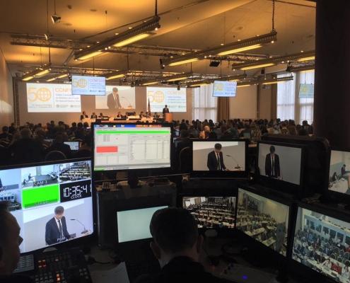 Location de matériel de conférence à Hambourg
