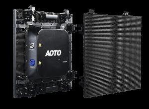 Location d'un écran géant avec modules LED 3,5 mm Aoto M3,5