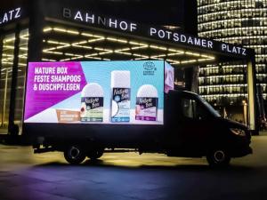 LED Cube Fahrzeug in Berlin