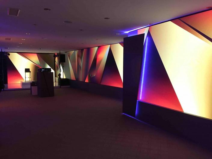 LED wall rental