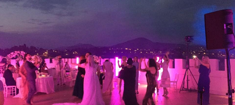 lights wedding monaco