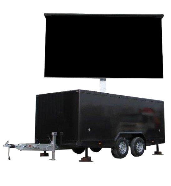 LED Trailer mieten
