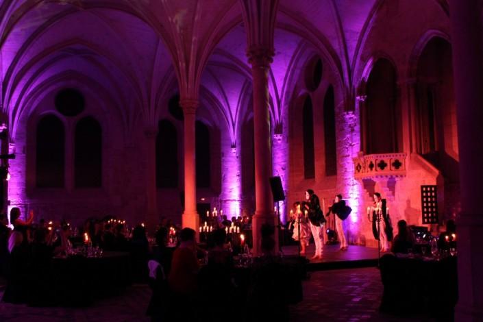 Lichttechnik mieten Messe