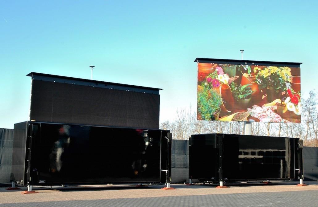 Mobile Led Screen Rental 187 Led Trailer Led Truck 187 Full