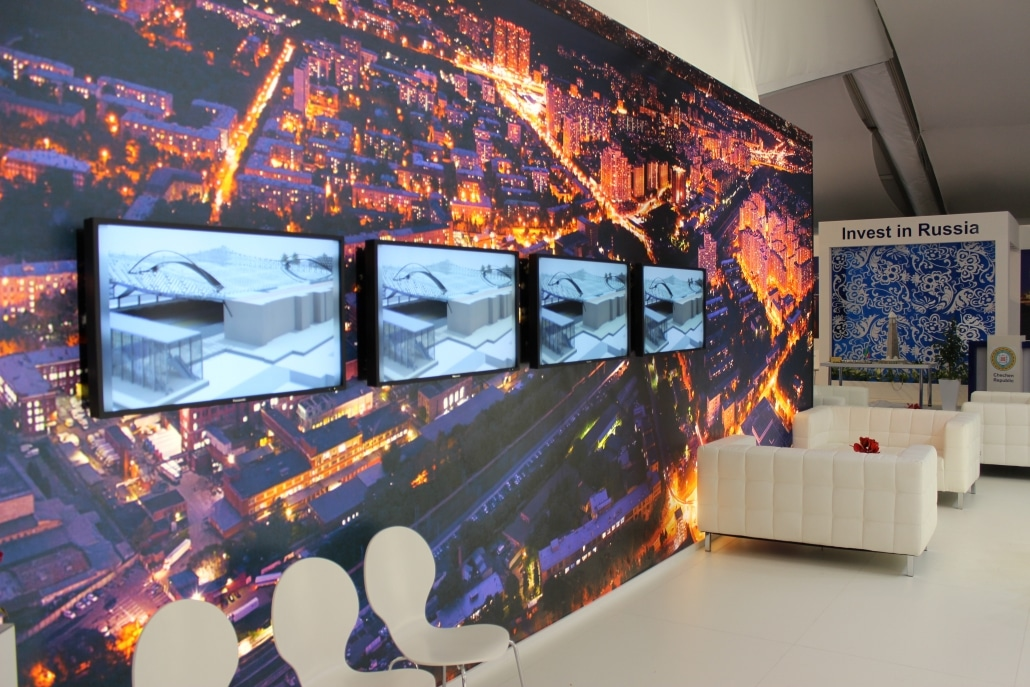 Rent Monitors 187 Lcd Led Tv Rental 187 For Trade Shows In Europe