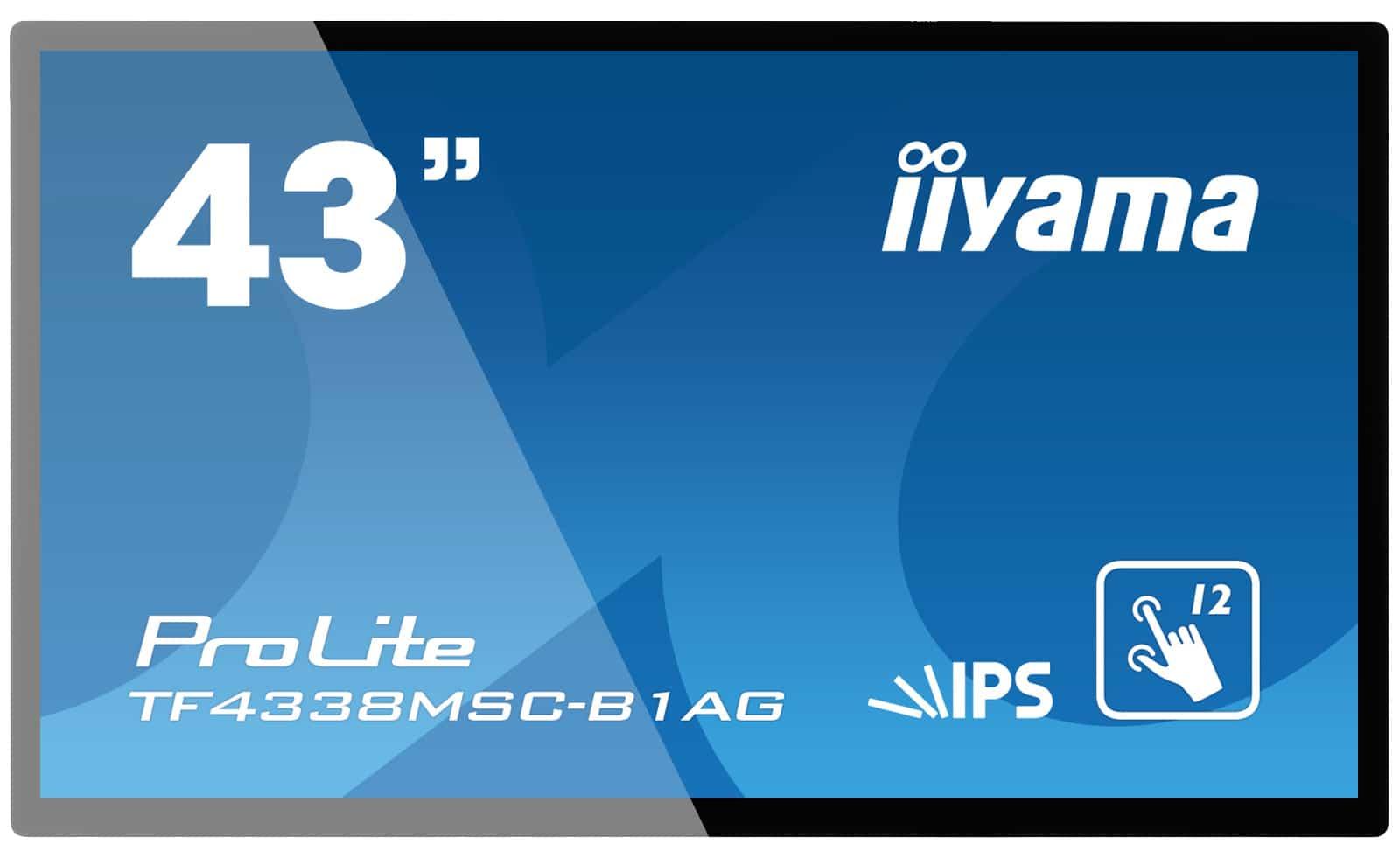 "43"" Iiyama Touchscreen ProLite mieten"