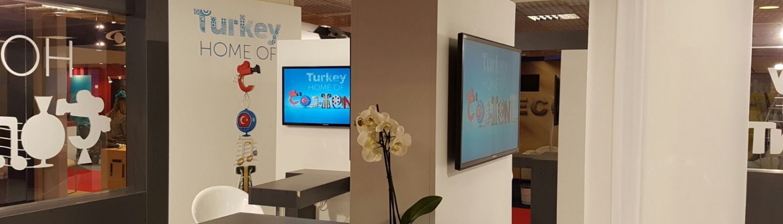 MipTV 32 inch display