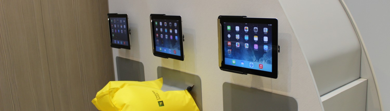 AIX Hamburg, iPads