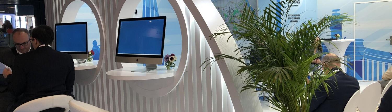 ese auf der expo real videowand in m nchen mieten. Black Bedroom Furniture Sets. Home Design Ideas