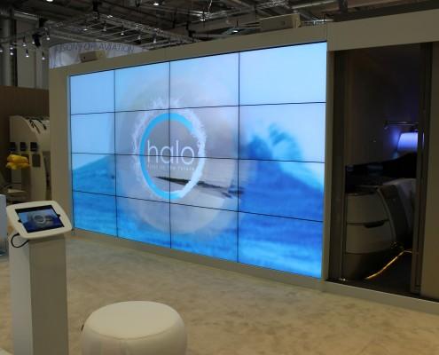 AIX Hamburg, seamless video wall 4x4