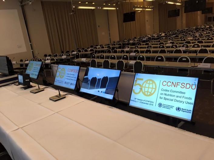 Konferenztechnik mieten Europa