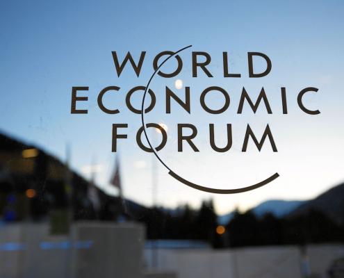 Matériel audiovisuel pour le Forum Économique Mondial de Davos