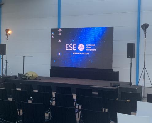 LED Wand 2mm mieten Stuttgart Konferenztechnik Veranstaltungstechnik